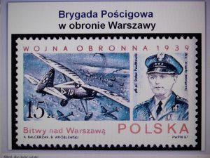 Brygada Pościgowa w obronie Warszawy