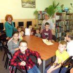 Lekcja biblioteczna w Niemicy