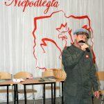 Wizyta Józefa Piłsudskiego w Szkole Podstawowej w Malechowie