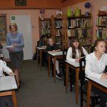 Gminny konkurs ortograficzny w Gminnej Bibliotece Publicznej w Malechowie