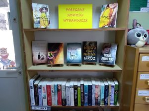 Nowości wydawnicze w bibliotece w Ostrowcu