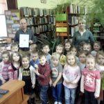 """""""W magicznym świecie wody"""" - lekcja biblioteczna z przedszkolakami z Malechowa"""