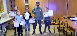 Lekcja biblioteczna o Narodowym Święcie Niepodległości w Pękaninie