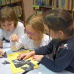 Międzynarodowy Dzień Kubusia Puchatka z przedszkolakami w GBP w Malechowie
