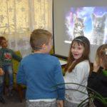 Światowy Dzień Kota z przedszkolakami w bibliotece