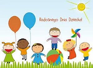 Ikona dekoracyjna dzień dziecka