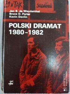 Książka Polski Dramat 1980-1982