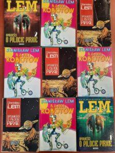 okładki książek Stanisława Lema
